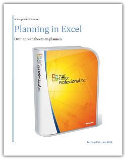 Planning in Excel